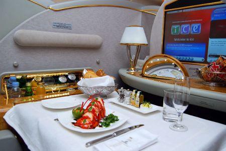 Питание на борту самолетов